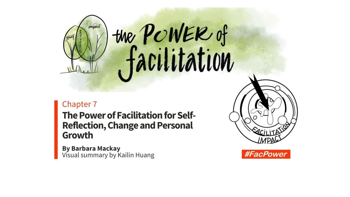 #FacPower chapter 7. The Power of Facilitation for Self-Reflection, Change and Personal Growth